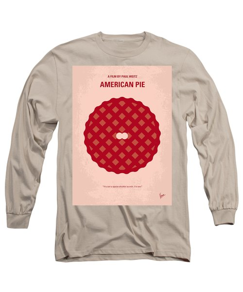 No262 My American Pie Minimal Movie Poster Long Sleeve T-Shirt