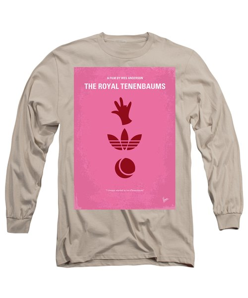 No320 My The Royal Tenenbaums Minimal Movie Poster Long Sleeve T-Shirt