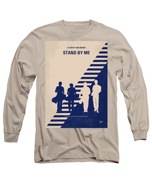 No429 My Stand By Me Minimal Movie Poster Long Sleeve T-Shirt