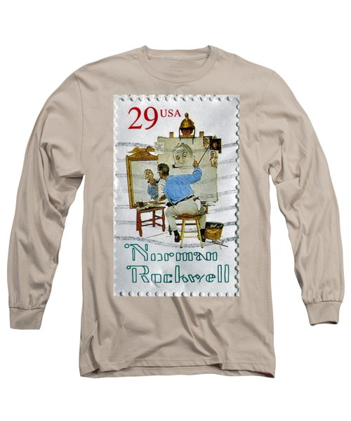 Norman Rockwell Long Sleeve T-Shirt