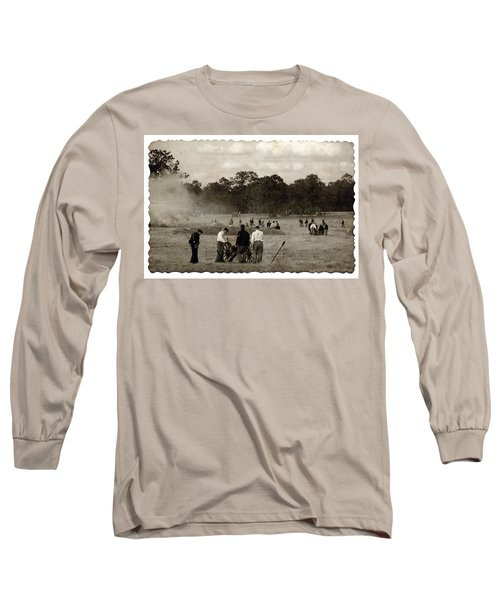 North And South Long Sleeve T-Shirt