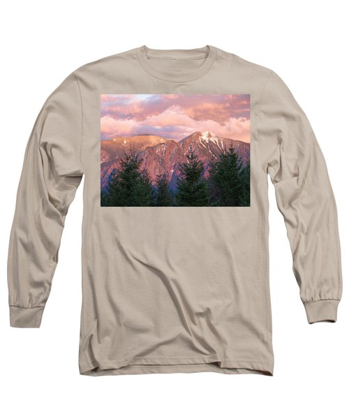 North Bend Washington Sunset 2 Long Sleeve T-Shirt