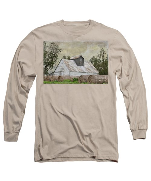 Long Sleeve T-Shirt featuring the photograph Nortonville Kansas by Liane Wright