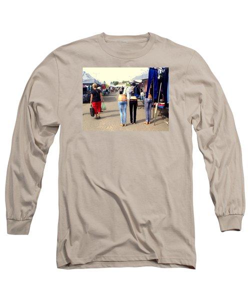 Nothing Less Than Three Graces Long Sleeve T-Shirt