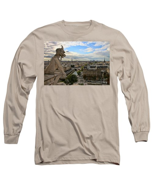 Notre Dame Gargoyle Long Sleeve T-Shirt
