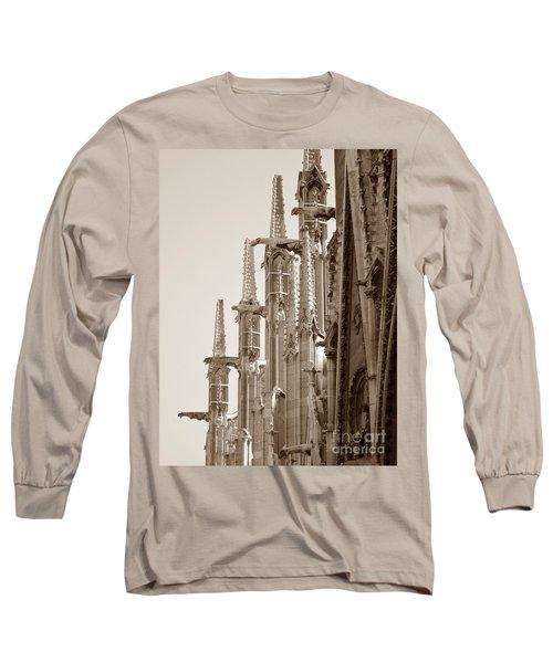 Notre Dame Sentries Sepia Long Sleeve T-Shirt