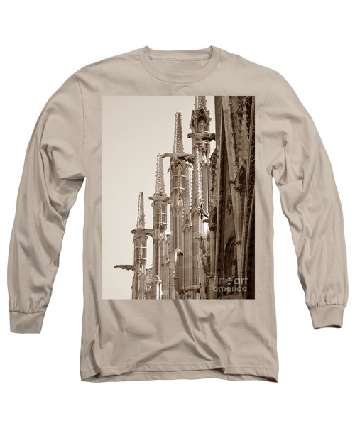 Notre Dame Sentries Sepia Long Sleeve T-Shirt