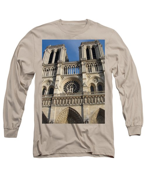 Long Sleeve T-Shirt featuring the photograph Notre Dame by Tiffany Erdman