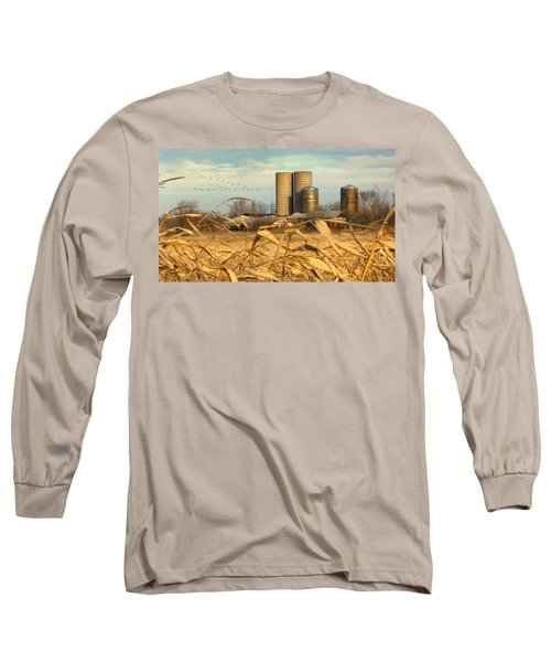 November Winds Long Sleeve T-Shirt by Doug Kreuger
