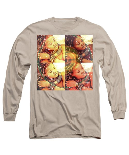 Nubian Beauty Long Sleeve T-Shirt