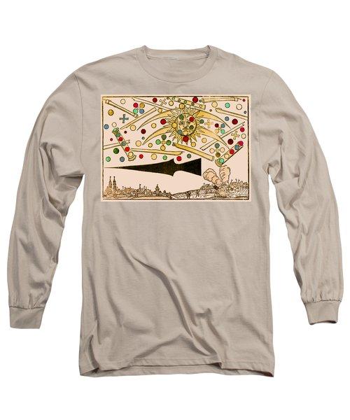 Nuremberg Ufo 1561 Long Sleeve T-Shirt