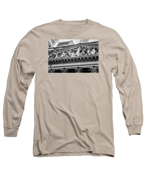 Nyse Long Sleeve T-Shirt by Jerry Fornarotto