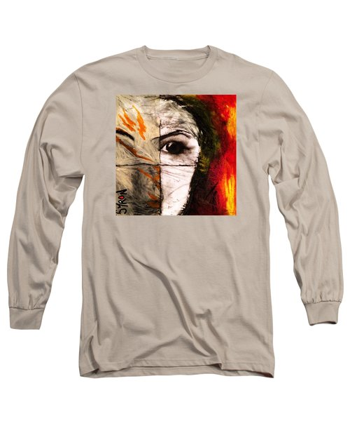 Obscure Long Sleeve T-Shirt by Helen Syron