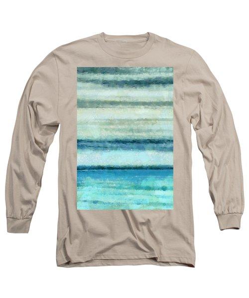 Ocean 4 Long Sleeve T-Shirt by Angelina Vick