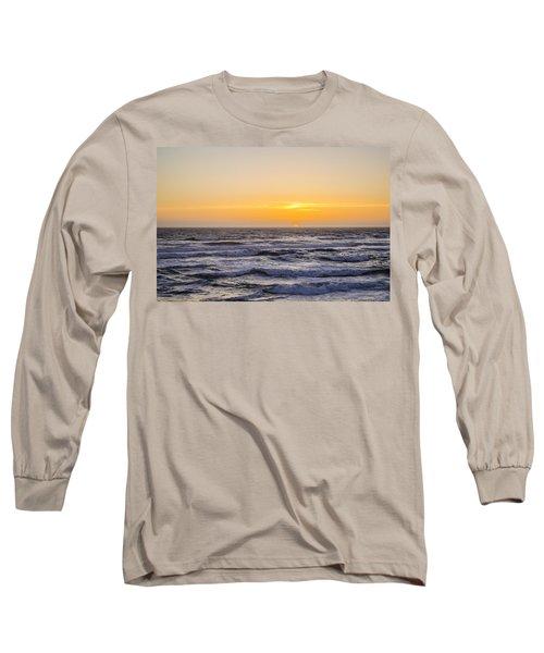 Ocean Beach Sunset Long Sleeve T-Shirt