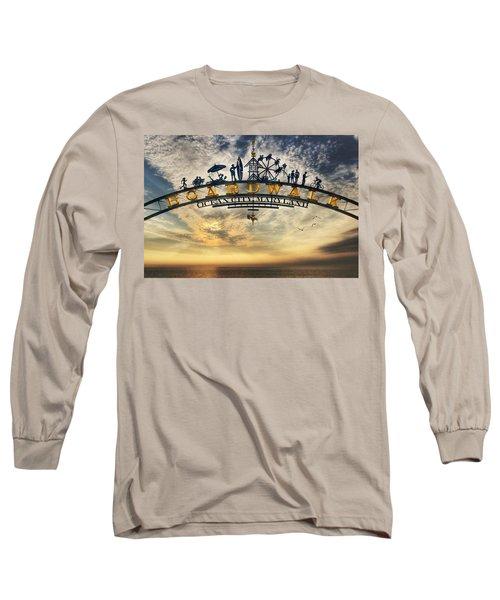 Ocean City Boardwalk Long Sleeve T-Shirt