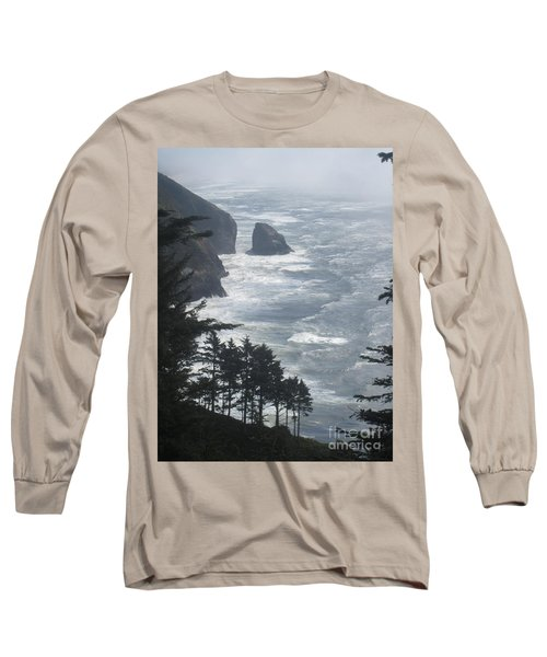 Ocean Drop Long Sleeve T-Shirt by Fiona Kennard