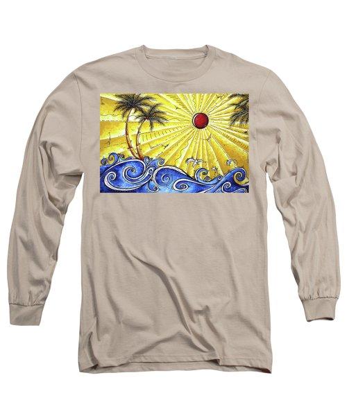 Ocean Fury By Madart Long Sleeve T-Shirt