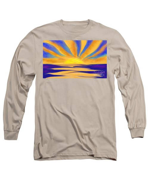 Ocean Sunrise Long Sleeve T-Shirt
