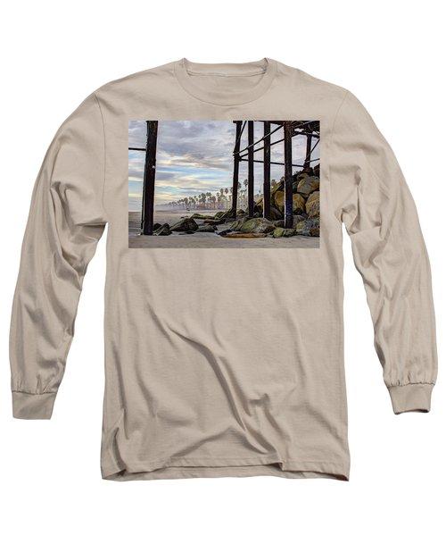 Oceanside Pier Long Sleeve T-Shirt