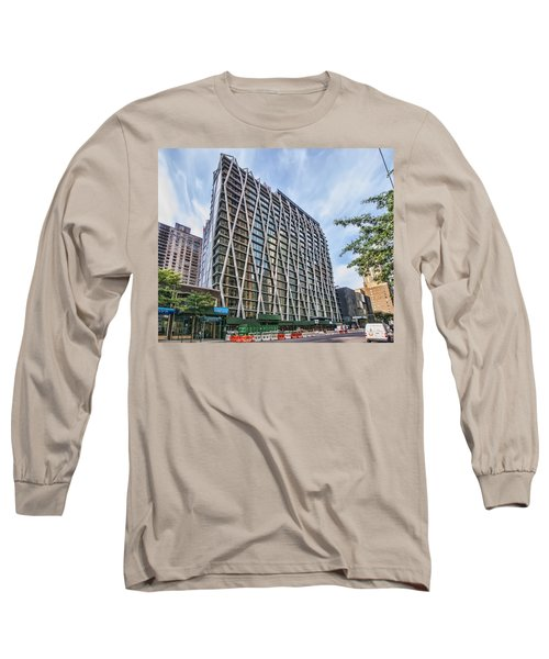 Oct 2014 Front View Long Sleeve T-Shirt by Steve Sahm