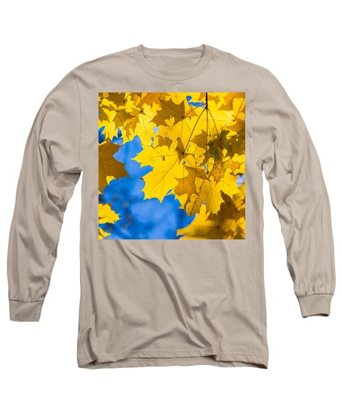 October Blues 8 - Square Long Sleeve T-Shirt by Alexander Senin