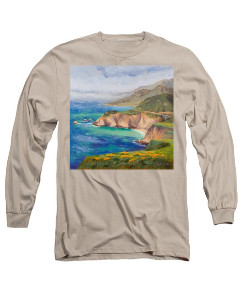 Ode To Big Sur Long Sleeve T-Shirt