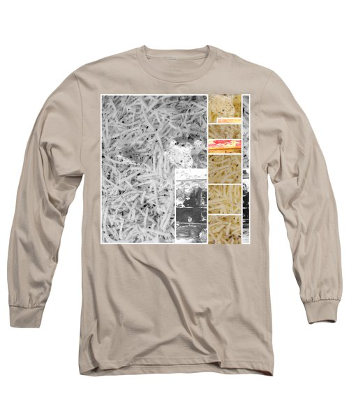 Long Sleeve T-Shirt featuring the photograph Odio Si Sta Sciogliendo by Sir Josef - Social Critic - ART