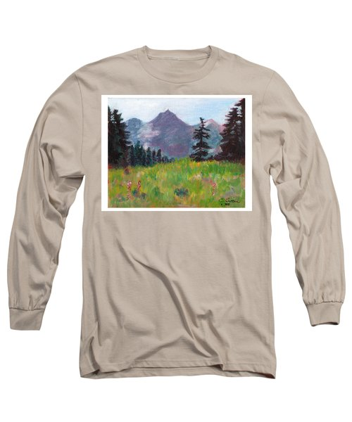 Off The Trail 2 Long Sleeve T-Shirt by C Sitton
