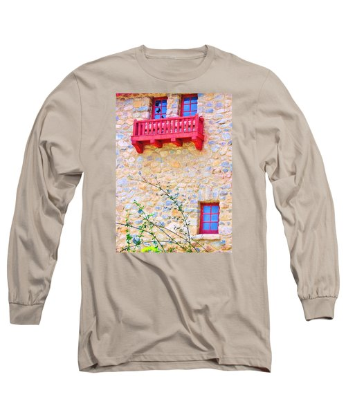 Long Sleeve T-Shirt featuring the photograph Oh Romeo by Marilyn Diaz