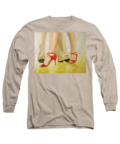 Oh Those Red Shoes Long Sleeve T-Shirt