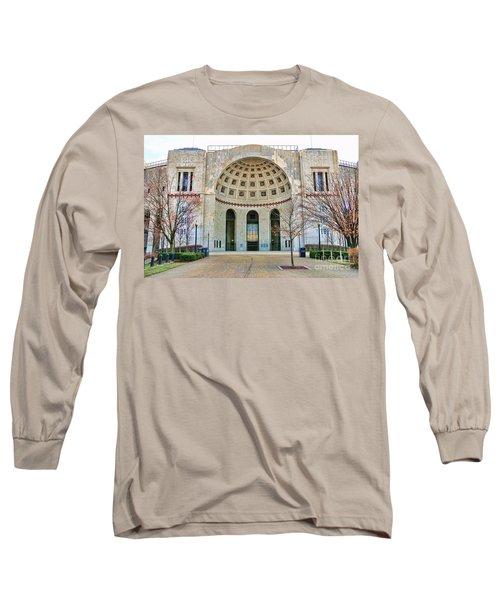 Ohio Stadium Main Entrance 1672 Long Sleeve T-Shirt