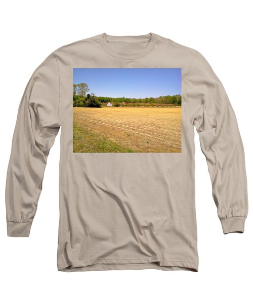Old Chicken Houses Long Sleeve T-Shirt by Amazing Photographs AKA Christian Wilson