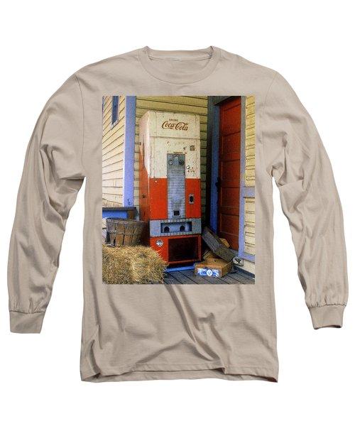 Old Coke Machine Long Sleeve T-Shirt
