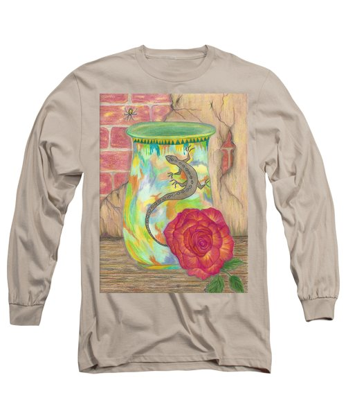 Old Crock And Rose Long Sleeve T-Shirt