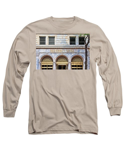 Old Ebbitt Grill Long Sleeve T-Shirt