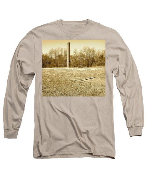 Long Sleeve T-Shirt featuring the photograph Old Faithful Smoke Stack by Amazing Photographs AKA Christian Wilson