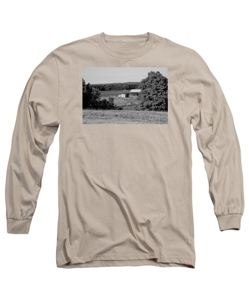 Old Farm House Revisited Long Sleeve T-Shirt