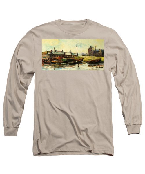 Old Fisherman's Village Long Sleeve T-Shirt