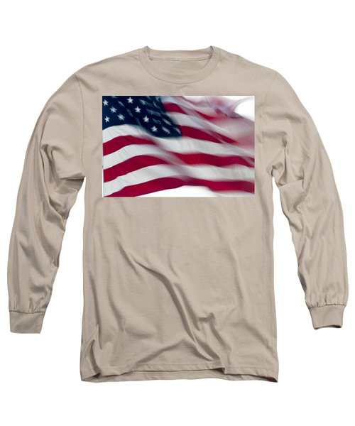 Old Glory Long Sleeve T-Shirt