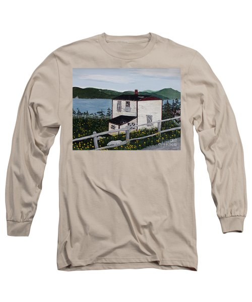 Old House - If Walls Could Talk Long Sleeve T-Shirt by Barbara Griffin