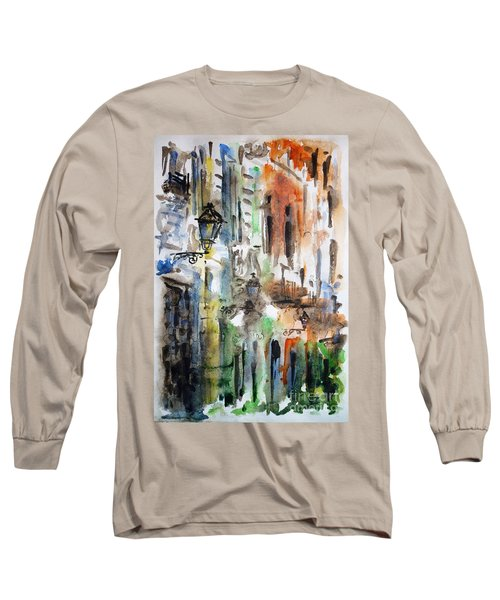Old Houses Of San Juan Long Sleeve T-Shirt