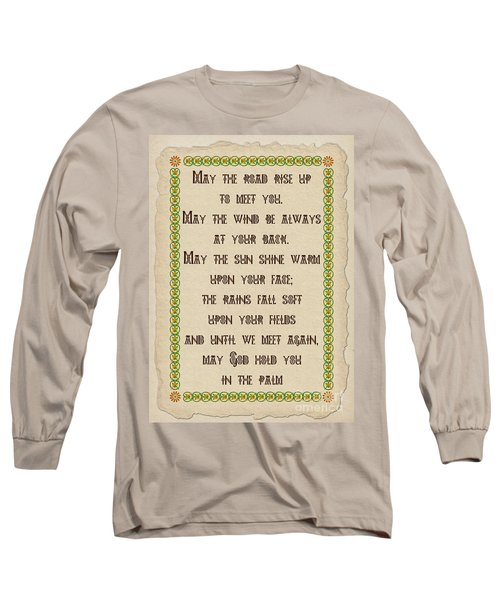 Old Irish Blessing Long Sleeve T-Shirt