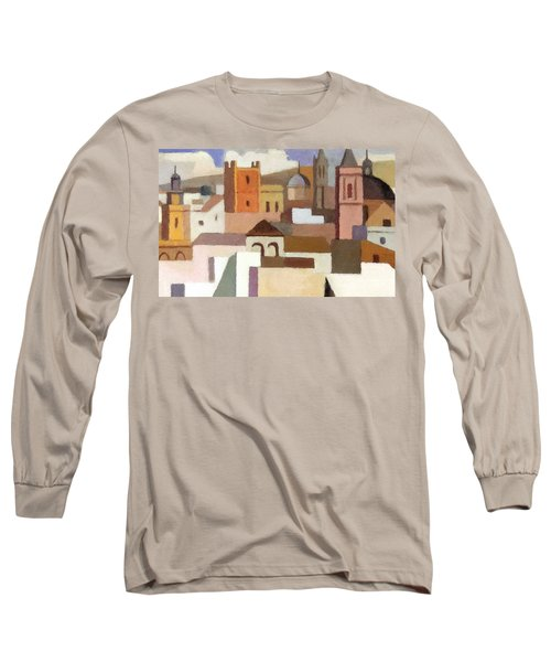 Old Jerusalem Long Sleeve T-Shirt by Munir Alawi