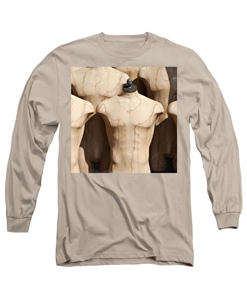 Old Male Dress Forms Long Sleeve T-Shirt
