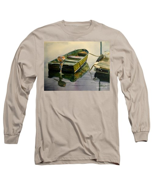 Old Pal Long Sleeve T-Shirt by Marilyn Jacobson