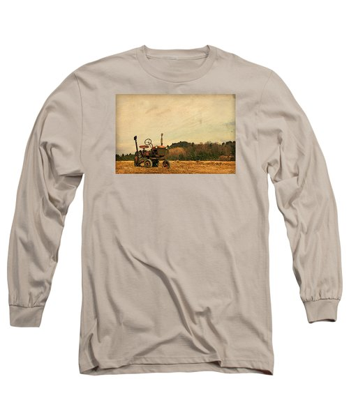 Long Sleeve T-Shirt featuring the photograph Old Red by Joan Davis
