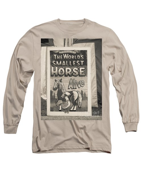 Old Sideshow Poster Long Sleeve T-Shirt