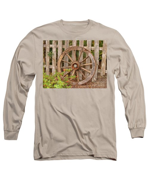 Old Spare Wheel Long Sleeve T-Shirt