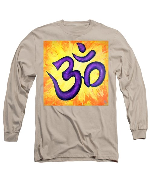 Om Symbol Art Painting Long Sleeve T-Shirt
